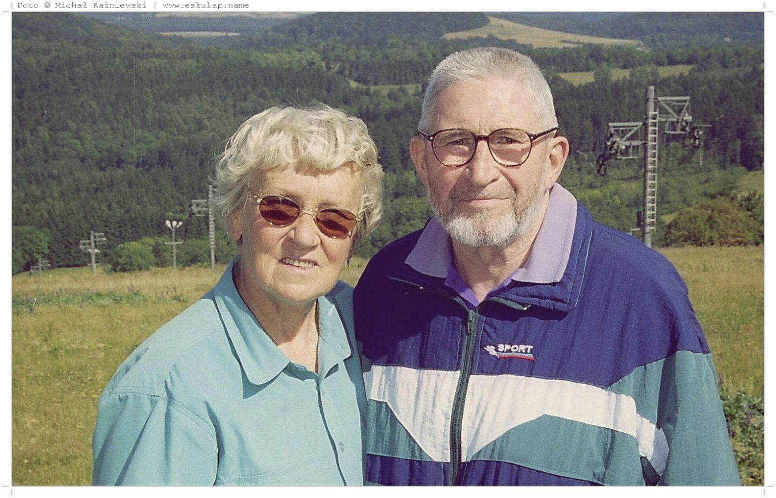 Założyciele Aesculapa - Teresa i Stanisław Rażniewscy